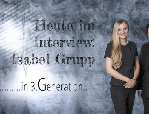 Isabel Grupp, Plastromayer, im Interview mit Bernd Kollmann